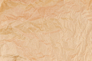 Top view detailed light beige packaging paper texture background