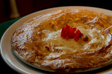 Cajun Style Crawfish Pot Pie with Handmade Crust