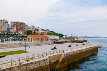 Santander, Spain. Beautiful views of the waterfront