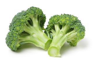 Keuken foto achterwand Verse groenten Broccoli vegetable on white background