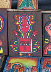Traditional Ethiopian artwork for sale near Lake Tana in Ethiopia