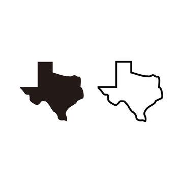 Texas Map Icon