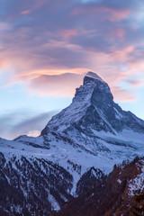 Paysage de montages - Zermatt - Suisse