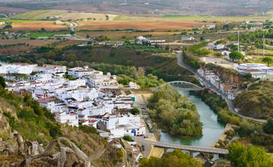 Arcos de la Frontera, white town of Cadiz. Andalusia,Spain.