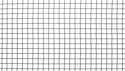 Black mesh texture isolated on white background, clipping path