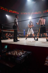 Chessboxing Fights match in Paris