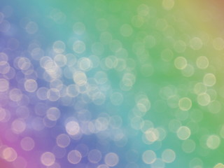 Rainbow abstract colorful bokeh background. abstract background