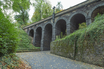 UNESCO Weltkulturerbe Schloss Stolzenfels im mittleren Rheintal über Koblenz
