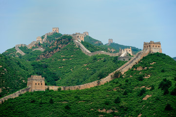 Great Wall of China in Simatai area,  about 120km from Beijing.