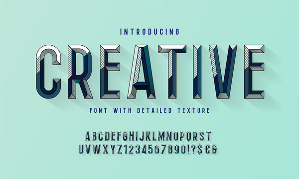 Chiseled block letters. Vector of modern bold font and alphabet. Vintage Alphabet vector 80's, 90's Old style graphic set. Retro Chiseled Alphabet Vector Font. Type letters, numbers.