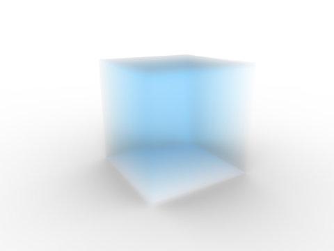 3d illustration of aerogel material