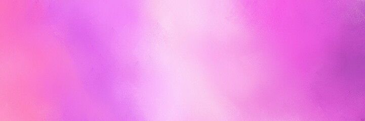 abstract orchid, violet and pastel pink colored diffuse painted banner background. can be used as wallpaper, poster or canvas art
