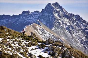 Świnica, szczyt w Tatrach Wysokich, TPN Wall mural