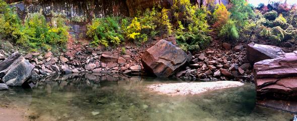 Emerald Pools, Zion's National Park, Utah, USA