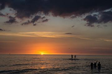 DSC2292a6000 Siesta Key Beach in Sarasota, Florida at sunset  ©2019 Paul Light