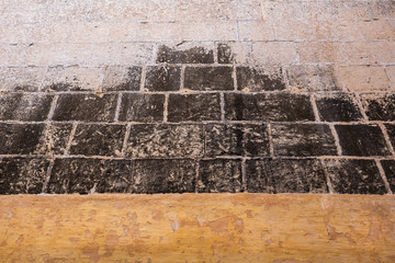 Medieval Wall From Mdina City In Malta