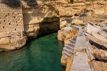 Sea Cave In Sliema Malta