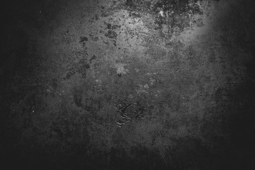 Photo sur cadre textile Metal Metal dirty background