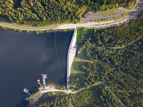 Blick auf den Schluchsee im Schwarzwald