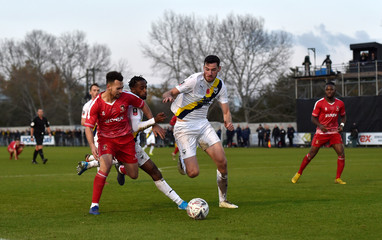 FA Cup - First Round - Hayes & Yeading United v Oxford United