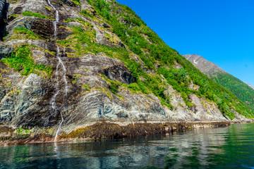 Deurstickers Noord Europa Beautiful view of the fjord in Norway
