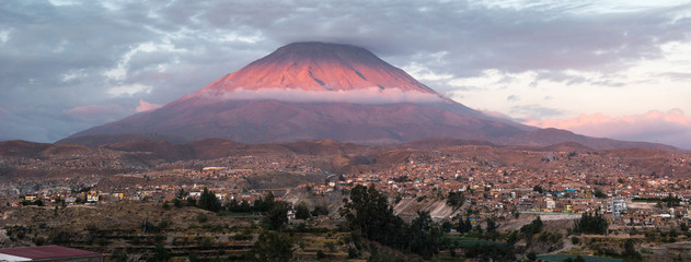 Misti volcano, Peru Fototapete