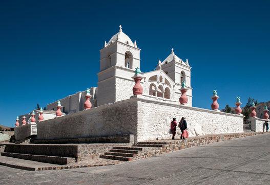 Maca village, Peru