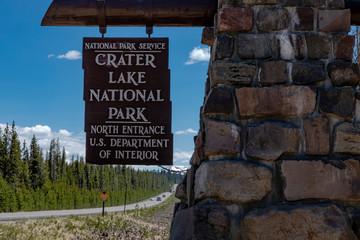 Crater Lake National Park Oregon summer road trip
