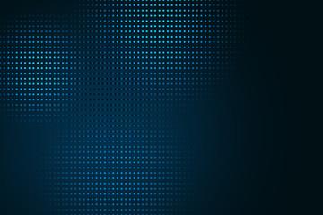 Fotobehang - Digital blue dots background