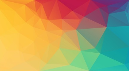 2D creative background with triangle shapes for web design