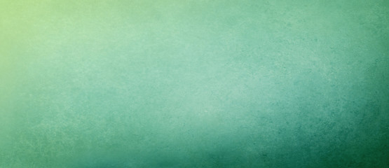blue green background texture with abstract yellow corner light, gradient blue green and yellow textured background design with grunge