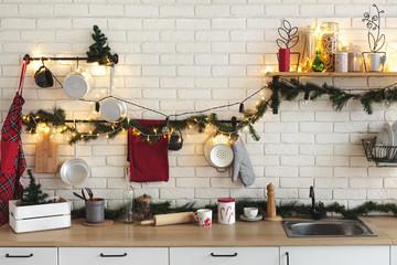 Fototapete für Küche