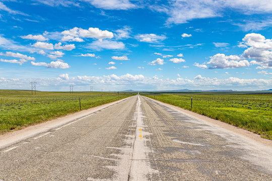 Wyoming Highway 487 near Casper Mountain.