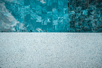 Floor texture with the pool for background