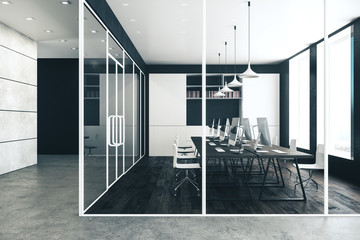 Wall Mural - Contemporary office interior