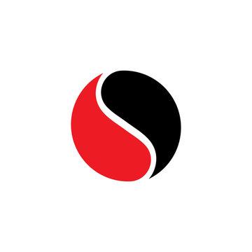 Yin Yang Simbol Flat