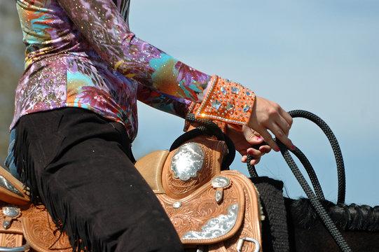 Western Pleasure Horse Showmanship