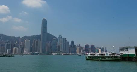 Fotomurales - Hong Kong skyline