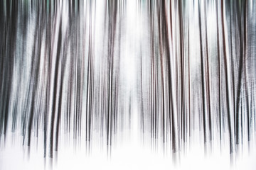 Keuken foto achterwand Grijs Winter season abstract nature art print and Christmas landscape holiday background, snowy magical forest as luxury brand postcard design backdrop