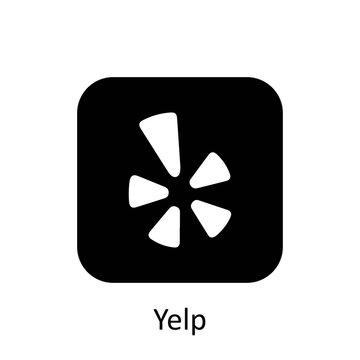 Yelp icon of social media logos