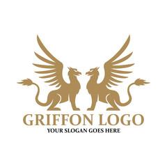griffon logo vector design template