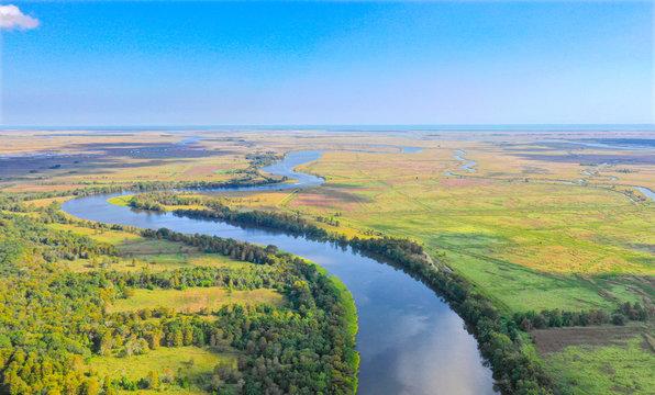 Santee River Aerial
