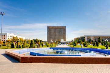 Samarkand city center, HDR image
