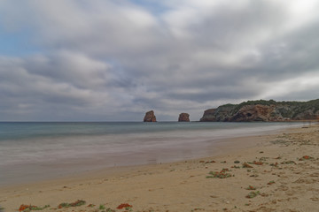 Hendaye, Basque Country, France - Les Deux Jumeux (The Two Twins)