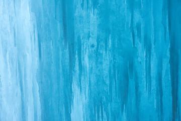 frozen waterfall background horizontal
