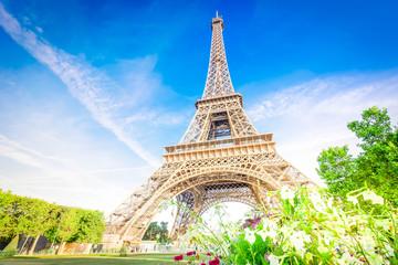 Acrylic Prints Eiffel Tower eiffel tour and Paris cityscape
