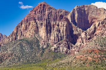 Fotobehang Aubergine Red Rocks, Nevada
