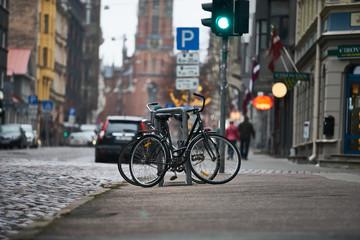 Photo sur Aluminium Velo bicycles in RIga
