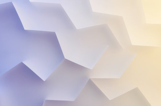 Abstract elements in colorful space, background