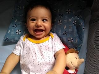 sorriso de bebê